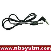 Raccord droit stéréo 3,5 à 3,5 câbles stéréo