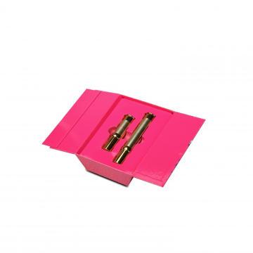 Boîtes d'emballage de papier de rouge à lèvres de formes irrégulières