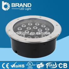 18W 3000K caliente luz subterráneo blanco LED, luz subterráneo LED Spot CE RoHS