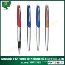 Пользовательский логотип Лучший бизнес-подарок Металлическая ручка