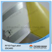 Low Frequency 125kHz Tk4100 RFID Inlay
