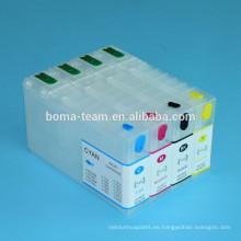 Cartucho de tinta recargable 788xxl T7881-T7884 para impresoras Epson Workforce PRO WF-5190 WF-5690