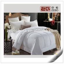 Alta qualidade super quentes 400g microfibra de enchimento cama de retalho por atacado edredão
