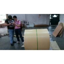 ASTM B-209 Стандартная водонепроницаемая алюминиевая катушка серии 3000 с крафт-покрытием