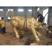Gartendekorationen Lebensgroße Metallhandwerk gegossen Bronze Skulptur