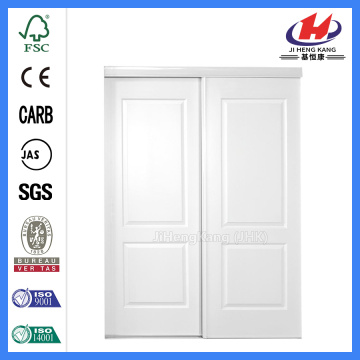 JHK-S01 2 Panel Arch Sliding Closet Doors