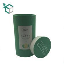 caja de papel redonda respetuosa del medio ambiente buen sellado para el embalaje del tubo de papel del café de la galleta del té