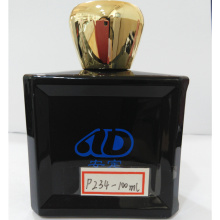 Ad-P234 Hot Sale Square Pet Glass Perfume Bottle 100ml