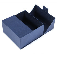 Double opening rigid cardboard gift box