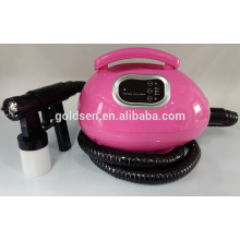 Pequena cama de bronzeamento Tan Mini Spraying tan sistema de arma Professional Airbrush portátil HVLP Body Sol Tanning Machine