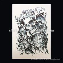 OEM Tatuaje de brazalete de brazalete de alta calidad al por mayor tatuaje de brazo tatuaje etiqueta tatuaje de brazo fantasma W-1015