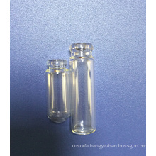 Clear Tubular Bottle Shape Mini Perfume Glass Bottle