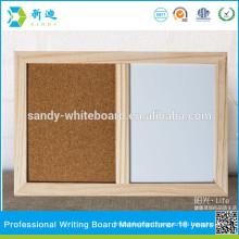hot sale combination cork board and white board