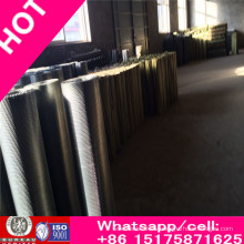 Precio de fábrica de Anping Wiremesh tejido de acero inoxidable prensado