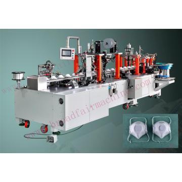 Máquina para fabricar máscaras en forma de copa semiautomática