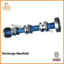 F series Discharge Manifold untuk pompa Bomco