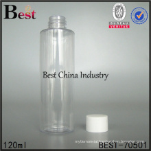 50ml 100ml transparent plastic bottle screw cap for cosmetic e-liquid