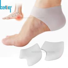 Almohadilla de talón de silicona suave personalizada para hidratar
