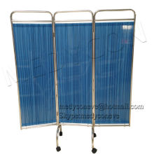 hospital ward folding screen with elegant design for hospital patient use