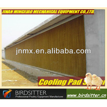 cooling pads for poultry houses