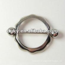 Dongguan Aço Atacado Nipple Piercing Body Jewelry