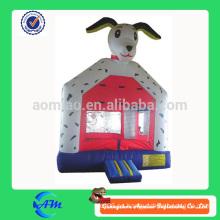 Pequeño perro de punto inflable gorila inflable