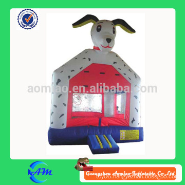 small size spot dog inflatable bouncer