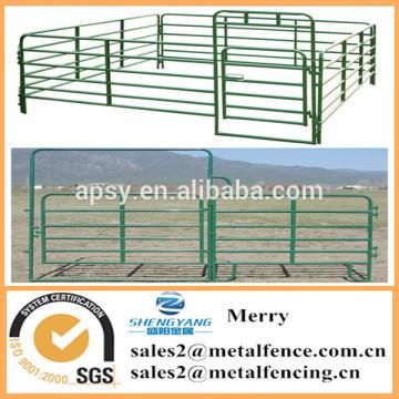 utility powder coated livestock farm fence horse corral fence panel