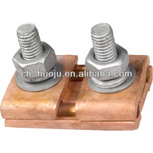 copper parallel groove connector