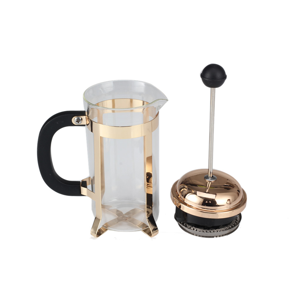Elegant Glass French Press