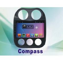 Système de navigation de système Android GPS pour Compass 10,2 pouces avec lecteur de DVD de voiture