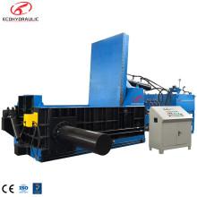 Équipement de presse à balles carrées de recyclage d'acier de ferraille hydraulique