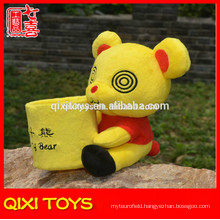 Lovely Cartoon Character fancy Plush Pencil Box