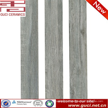 china manufacturer 150X900 rustic porcelain wooden look tile in coffer shop