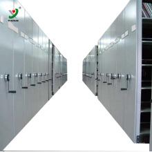 Shelving móvel compacto do metal da fábrica de China para a biblioteca escolar