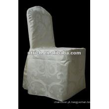 100% poliéster Jacquard cadeira cobre para casamento
