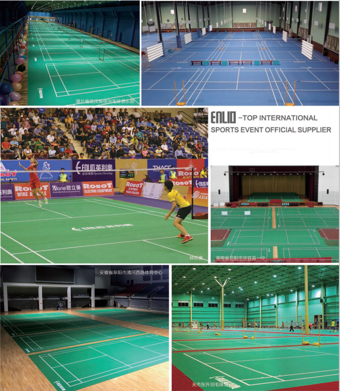 INDOOR BADMINTON COURTS CASES