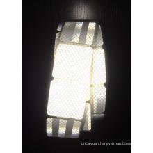 High Visibility Micro Prism White Retro Reflective Tape