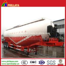 Remorque de camion de semi-citerne de silo de ciment en vrac de 45m3 (PLY9432SDWL)