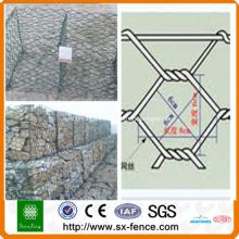 Caixa de gabião hexagonal