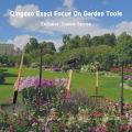 Melhor jardim enxada com cabo de fibra de vidro de uso duplo