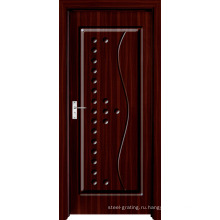 Деревянные двери из ПВХ для кухни или ванной комнаты (pd-003)