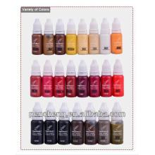 Pigment de tatouage 1/2 oz pour la conception des lèvres et des tatouages