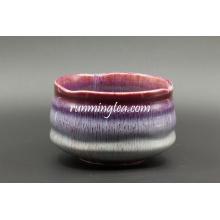 Tazones de cerámica de la pintura fijados Tazón de cerámica de Matcha del hogar del hogar diario