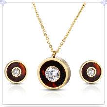 Accessoires de mode Ensemble de bijoux en bijoux en acier inoxydable (JS0258)