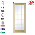 15-Lite Barn Door with Door Hardware Kit