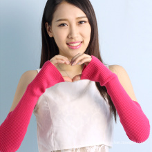 2017 hot sale womens cashmere fingerless gloves for girls
