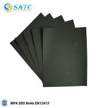 Papier abrasif en carbure de silicium noir pour bois et métal