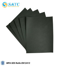 Black silicon carbide sanding paper for wood & metal