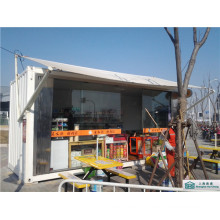 Modified Shipping Container Retail Store